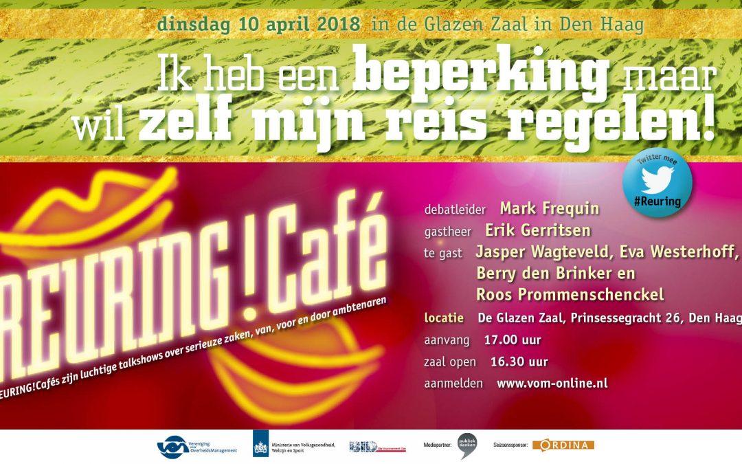 Verslag Reuring!Café #84 | Reizen met een beperking | 10 april