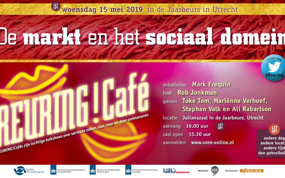 Reuring!Café #92 | De markt en het sociaal domein | 15 mei