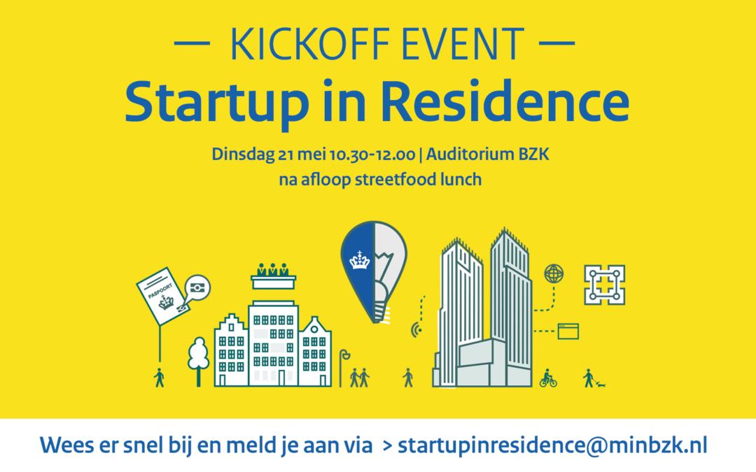 Kick-off | Startup in Residence | 21 mei