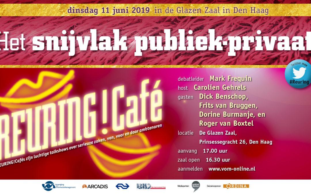 Reuring!Café #94 | Het snijvlak publiek-privaat | 11 juni