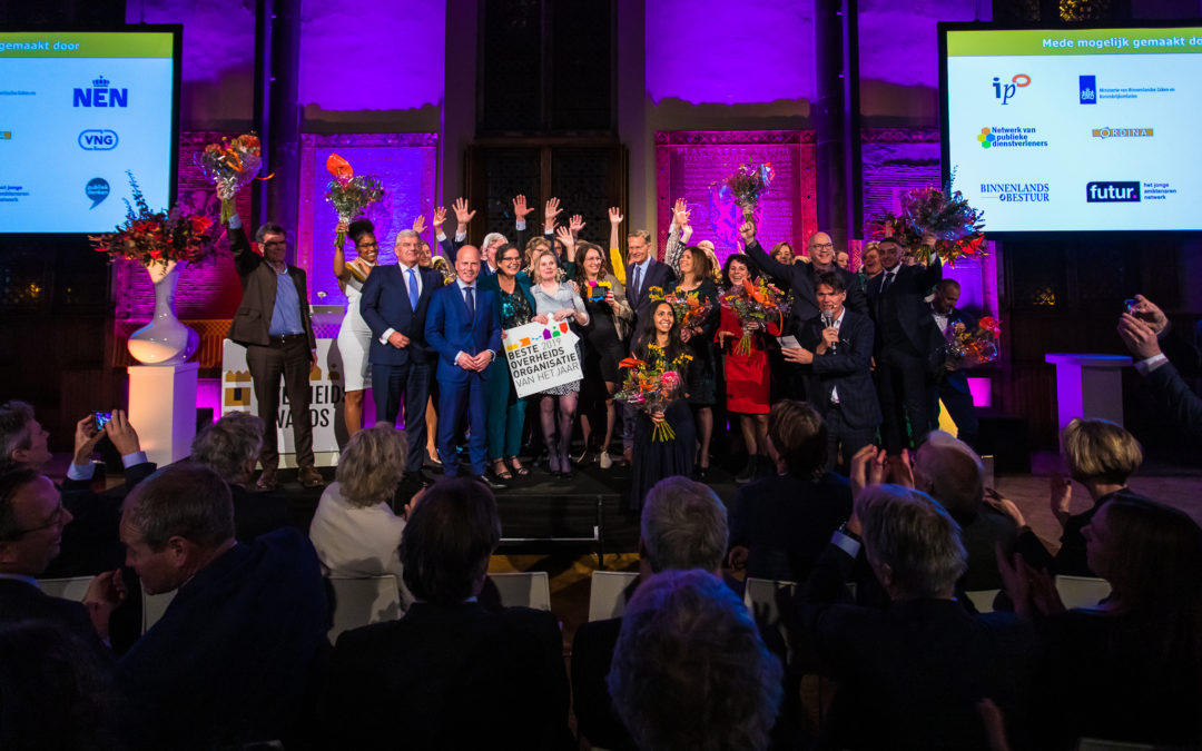 Overheidsawards | Winnaars 2019 bekend! | 19 november