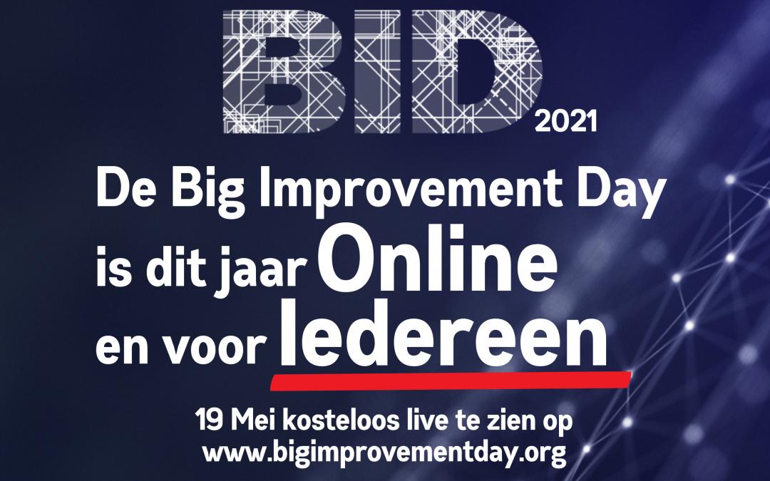 Big Improvement Day 2021 | Live op 19 Mei