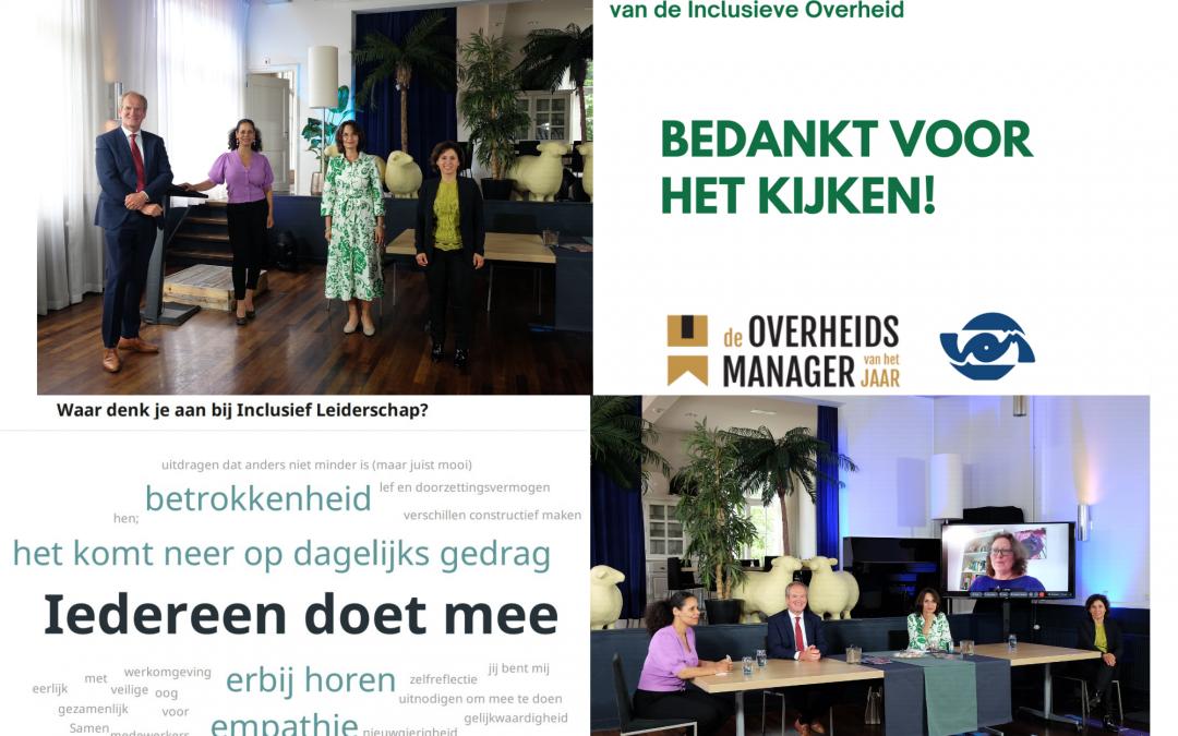 Leiderschapsconferentie van de Inclusieve Overheid | Terugkijken | 23 juni
